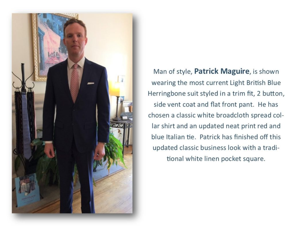 Man of style - Patrick Maguire